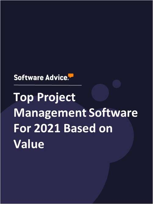 Top Project Management Software For 2021 Based on Value