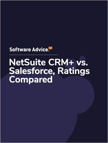 NetSuite CRM+ vs. Salesforce Ratings, Compared