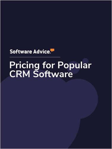 Pricing for Popular Customer Relationship Management Software