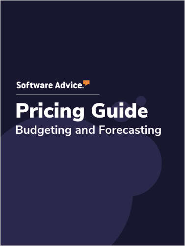 Updated Budgeting and Forecasting Software Pricing Guide from Software Advice