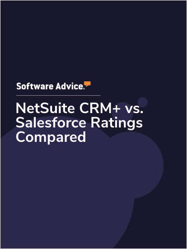 NetSuite CRM+ vs. Salesforce Ratings Compared