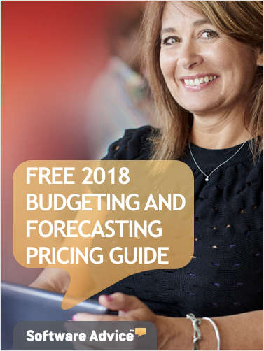 The 2018 Budgeting and Forecasting System Pricing Guide for Accounting Professionals