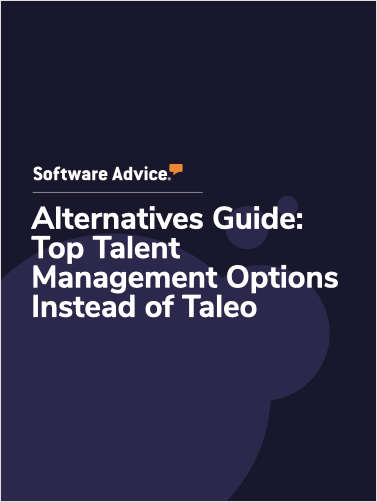 Software Advice Alternatives Guide: 5 Top Talent Management Options Instead of Taleo