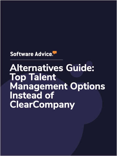 Software Advice Alternatives Guide: 5 Top Talent Management Options Instead of ClearCompany