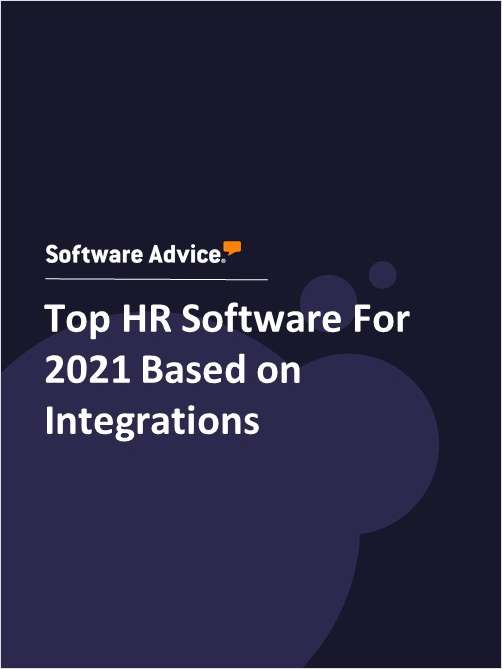 Top HR Software For 2021 Based on Integrations