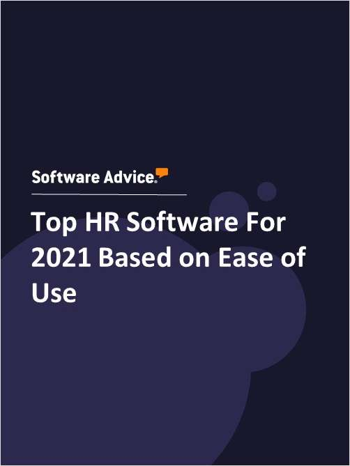 Top HR Software For 2021 Based on Ease of Use