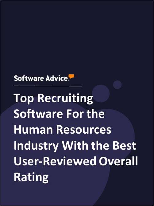 Top Recruiting Software For the Human Resources Industry With the Best User-Reviewed Overall Rating