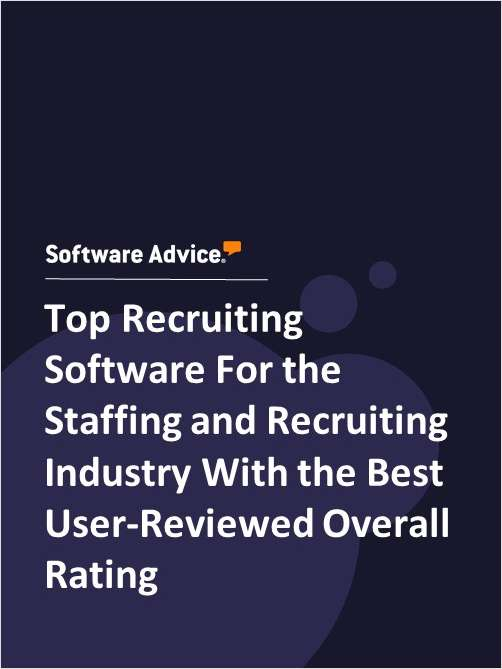 Top Recruiting Software For the Staffing and Recruiting Industry With the Best User-Reviewed Overall Rating