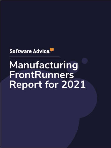 Manufacturing FrontRunners Report for 2021