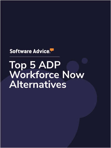 Top 5 ADP Workforce Now Alternatives
