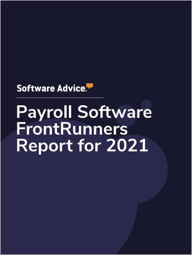 Payroll Software FrontRunners Report for 2021