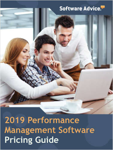 New 2019 Performance Management Software Pricing Guide