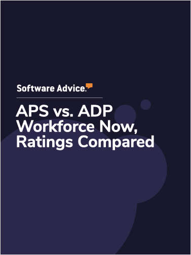 APS vs. ADP Workforce Now Ratings, Compared