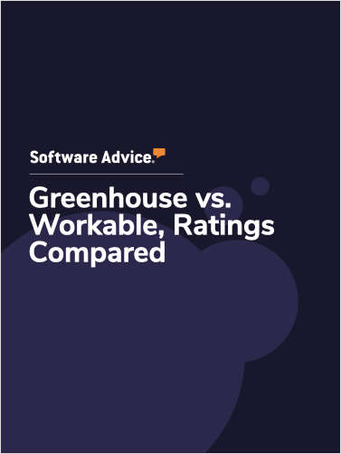 Greenhouse vs. Workable Ratings, Compared