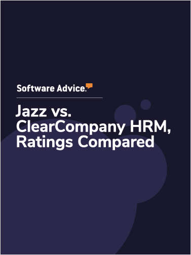 Jazz vs. ClearCompany HRM Ratings, Compared