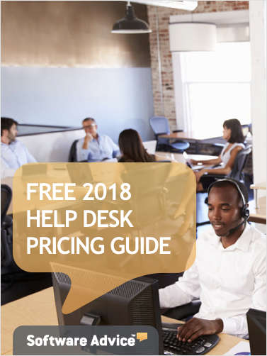 The 2018 Help Desk System Pricing Guide for Business Professionals
