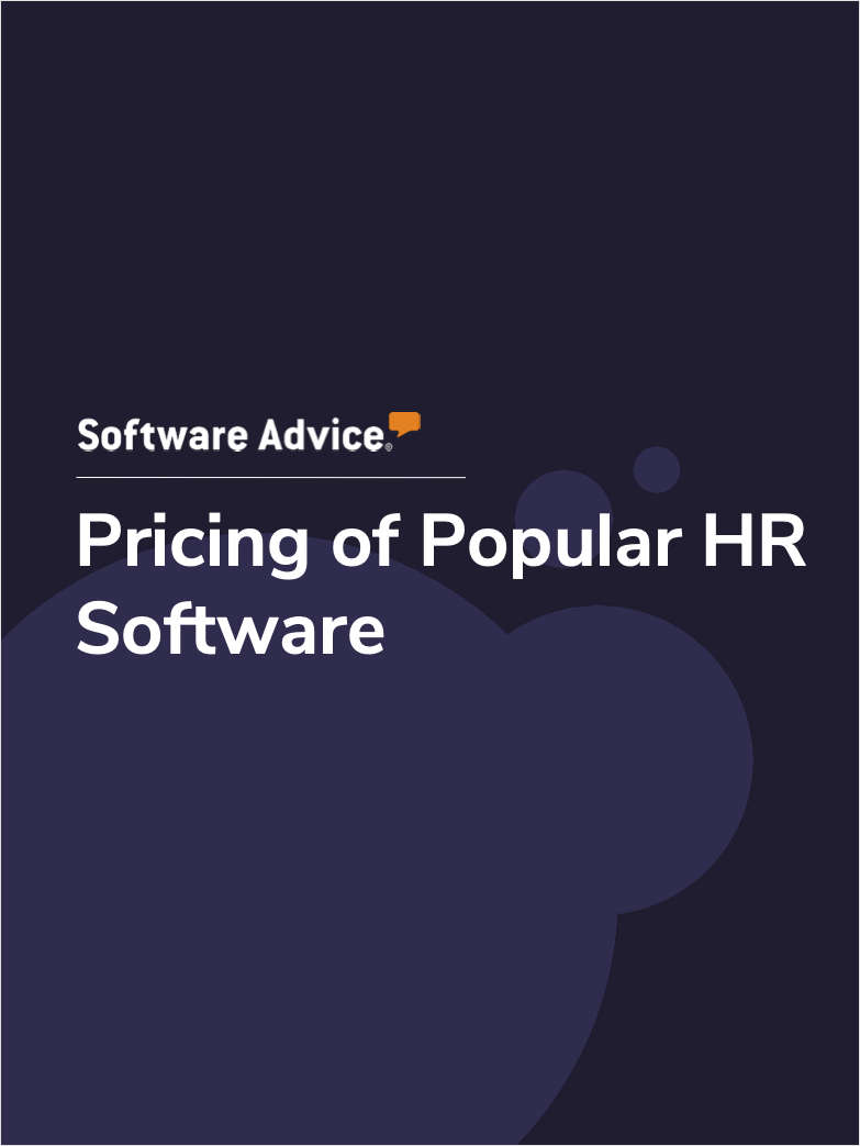 Pricing of Popular HR Software