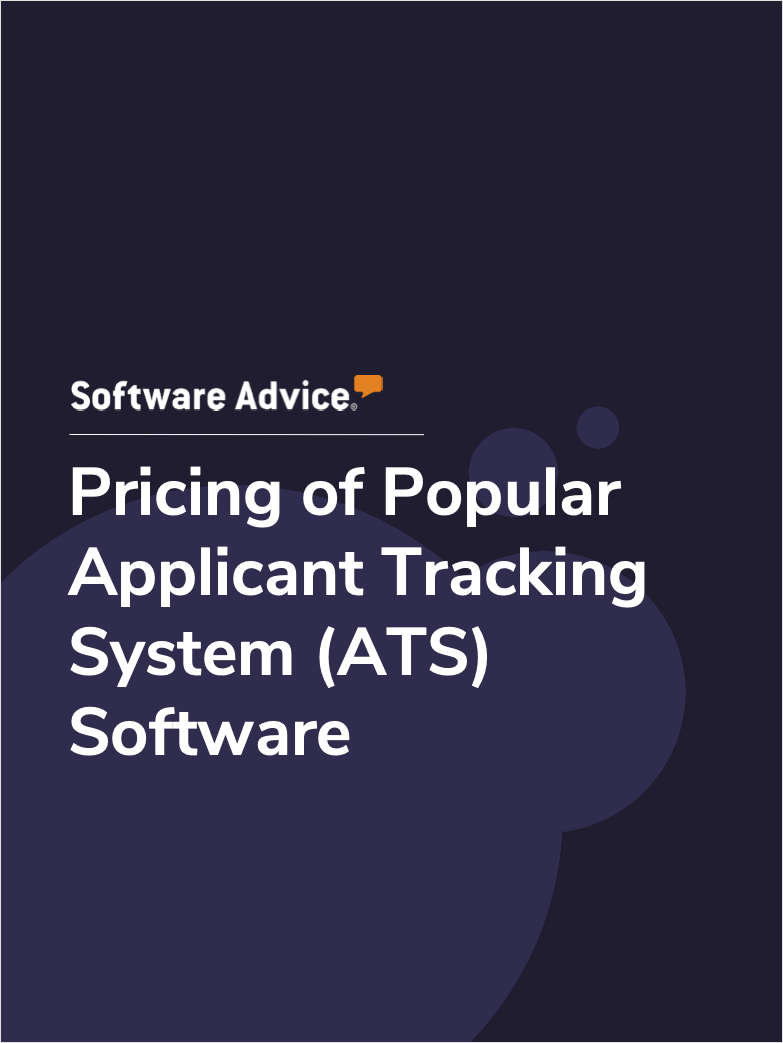 Pricing of Popular Applicant Tracking System (ATS) Software