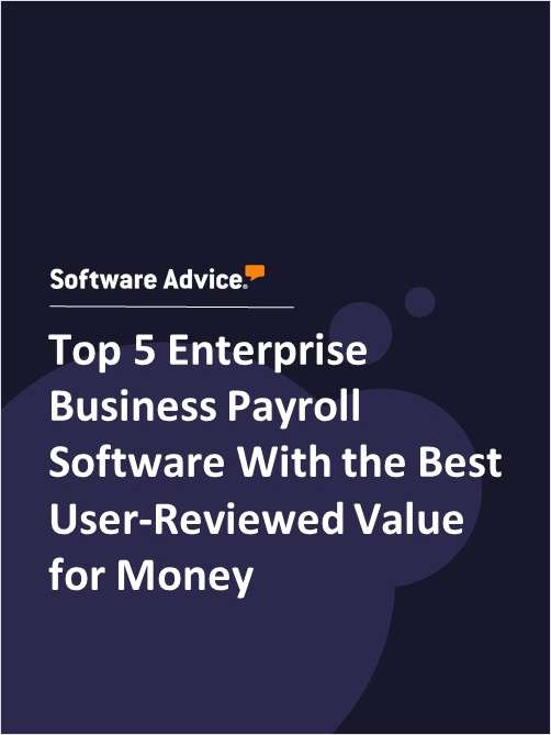 Top 5 Enterprise Business Payroll Software With the Best User-Reviewed Value for Money
