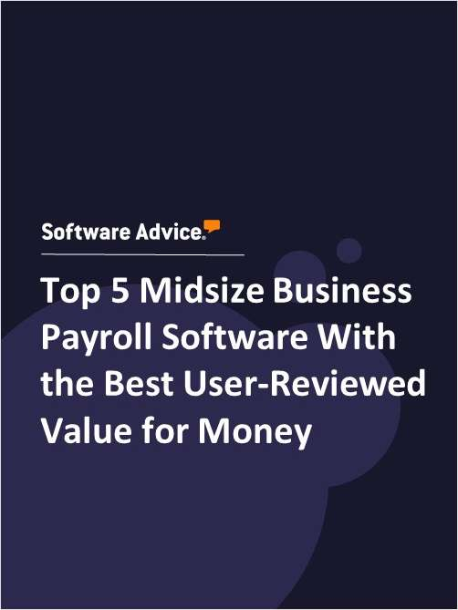 Top 5 Midsize Business Payroll Software With the Best User-Reviewed Value for Money