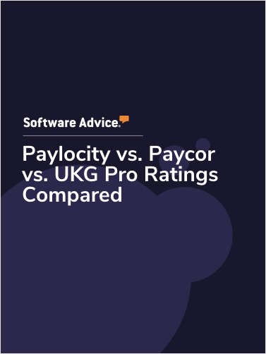 Paylocity vs. Paycor vs. UKG Pro Ratings Compared
