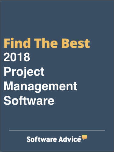 Find the Best 2018 Project Management Software - Get FREE Customized Recommendations