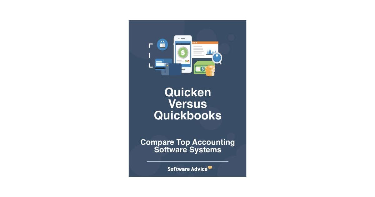 Quicken vs  Quickbooks - Compare Top Accounting Software
