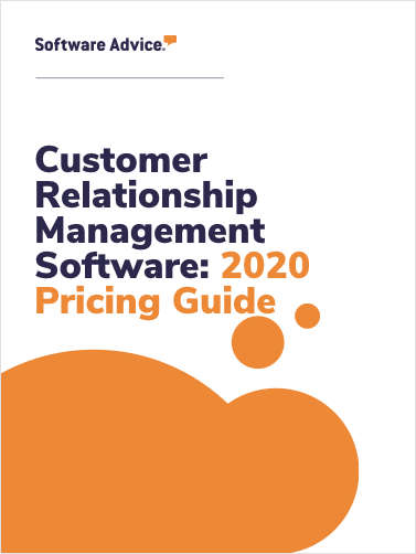 Updated Customer Relationship Management Software Pricing Guide from Software Advice