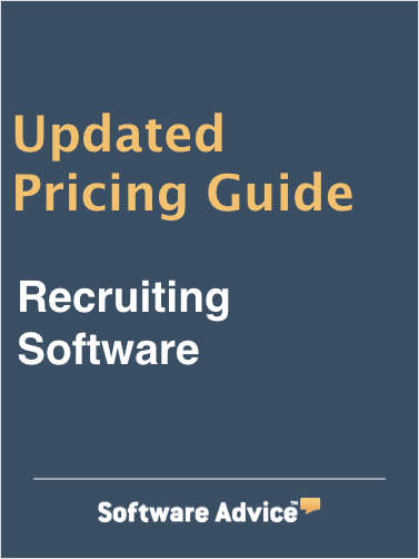 Updated Recruiting Software Pricing Guide from Software Advice