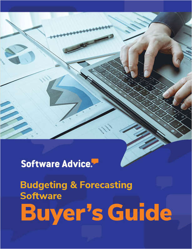 Software Advice's Guide to Buying Budgeting and Forecasting Software in 2019
