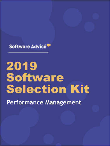The 2019 Performance Management Software Selection Kit