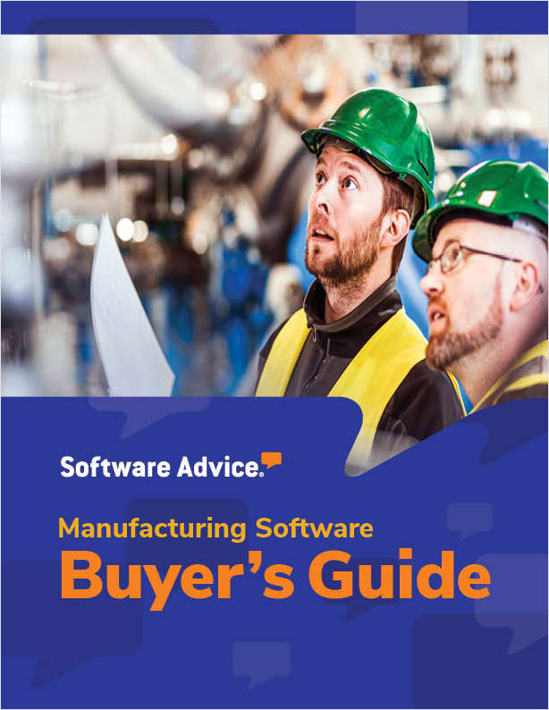 Software Advice's Guide to Buying Manufacturing Software in 2019