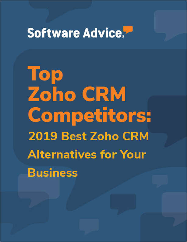 Discover how top Customer Relationship Management systems compare to Zoho