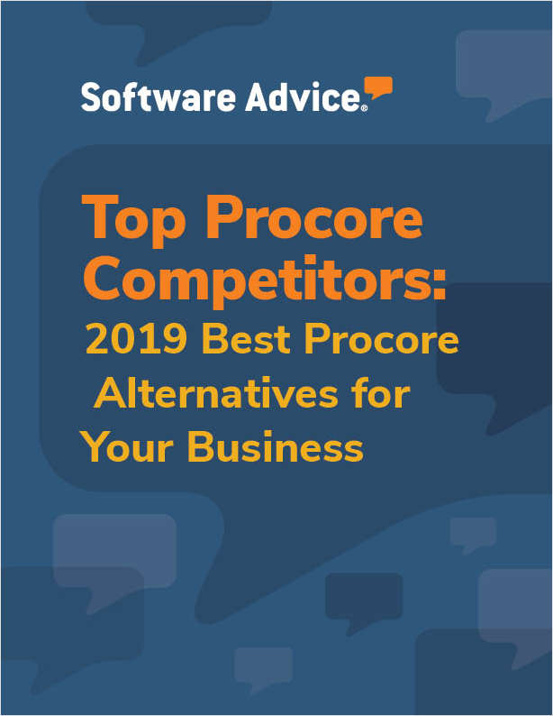 Discover how top Project Management systems compare to Procore
