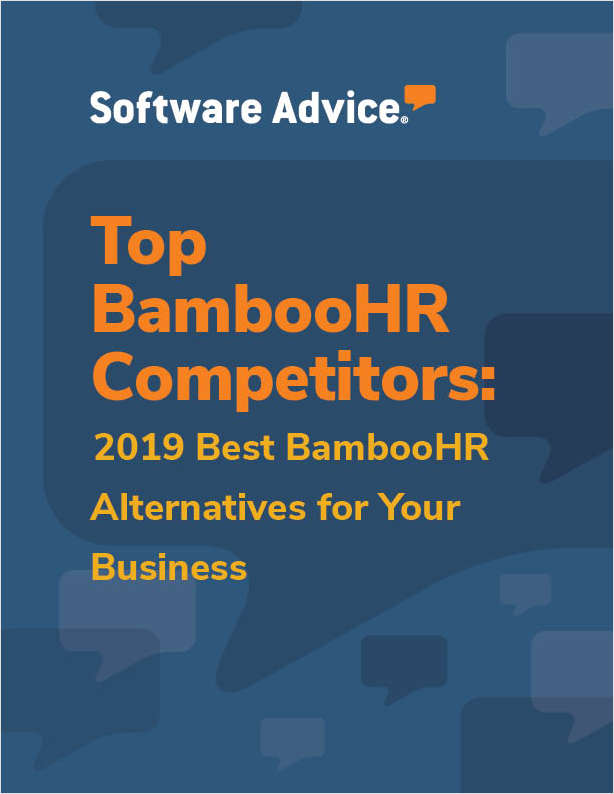 Discover how top Human Resources systems compare to BambooHR