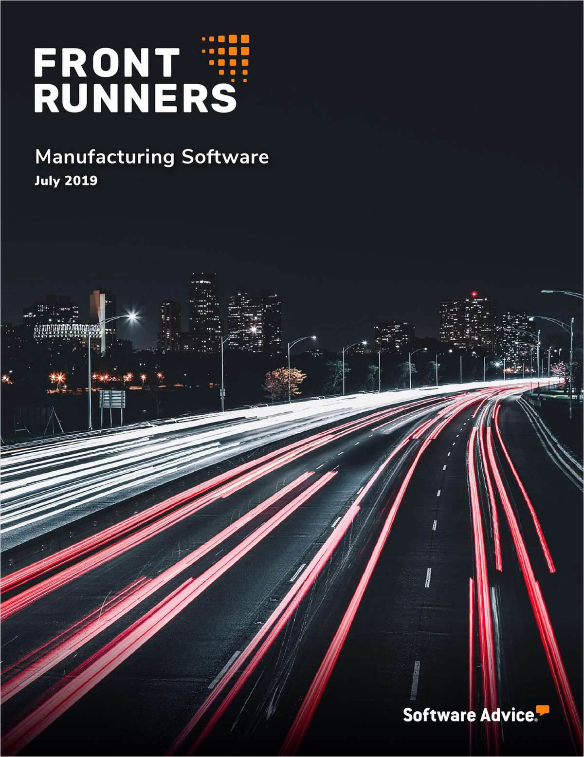 Top Rated FrontRunners for 2019 Manufacturing Software