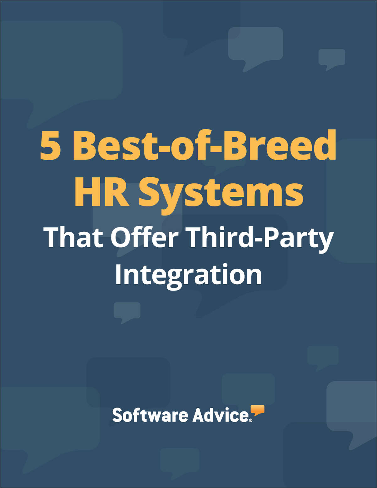 5 Best-of-Breed HR Systems That Offer Third-Party Integration
