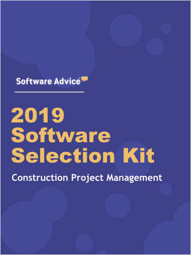 The 2019 Construction Project Management Software Selection Toolkit