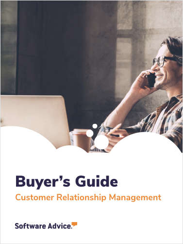 Software Advice's Guide to Buying Customer Relationship Management Software in 2019