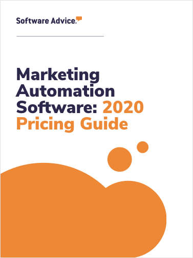 Is Your Marketing Automation Software Ready for 2020? Software Advice's Pricing Guide