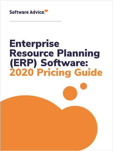 Enterprise Resource Planning (ERP) Software: 2020 Pricing Guide
