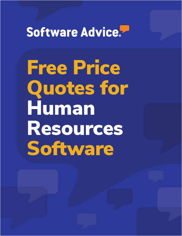 Get Free Human Resources Software Price Quotes!