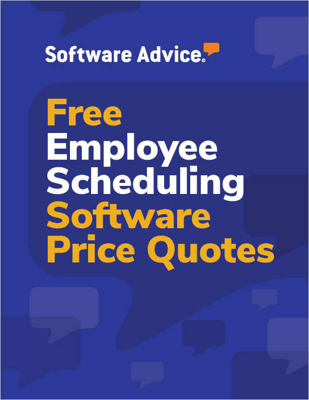 Get Free Employee Scheduling Software Price Quotes!