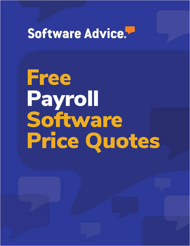 Get Free Payroll Software Price Quotes!