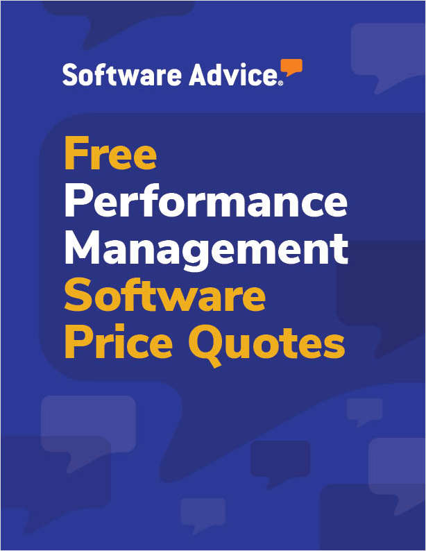 Get Free Performance Management Software Price Quotes!