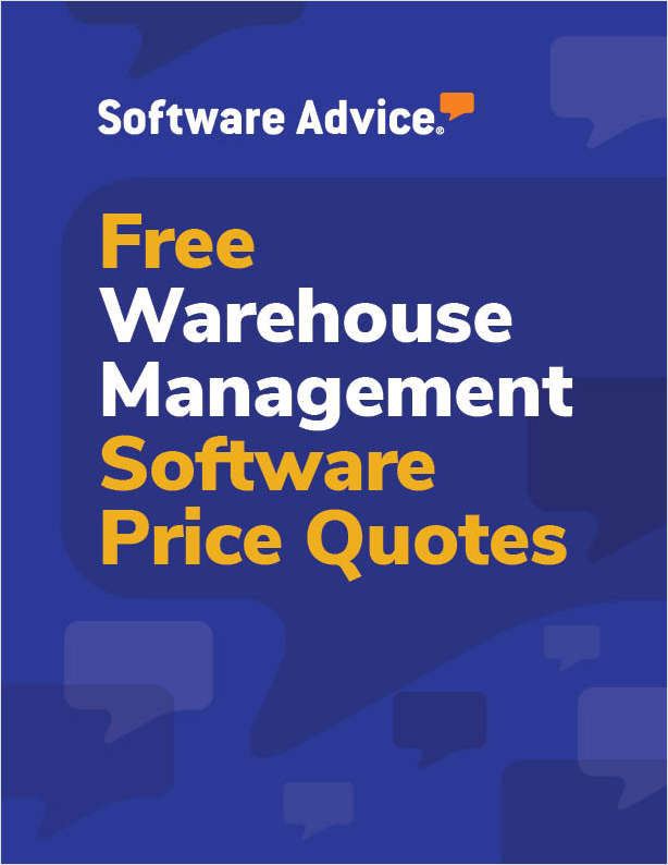 Get Free Warehouse Management Software Price Quotes!
