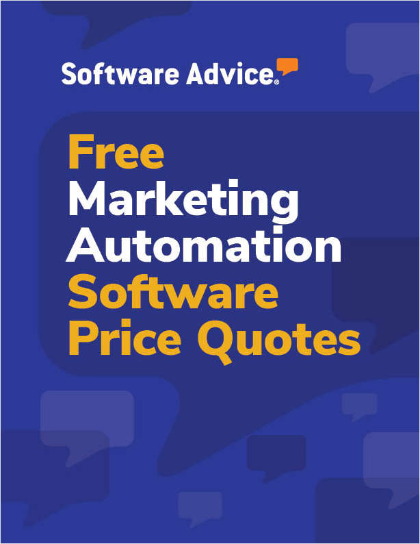 Get Free Marketing Automation Software Price Quotes!