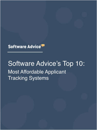 Software Advice's Top 10: Most Affordable Applicant Tracking Systems