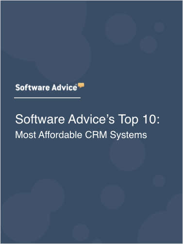 Software Advice's Top 10: Most Affordable CRM Systems