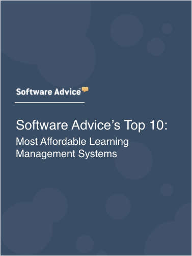Software Advice's Top 10: Most Affordable Learning Management Systems